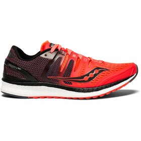 saucony Liberty ISO - Chaussures running Femme - rouge/noir